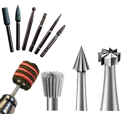 Drills, Burrs & Accessories